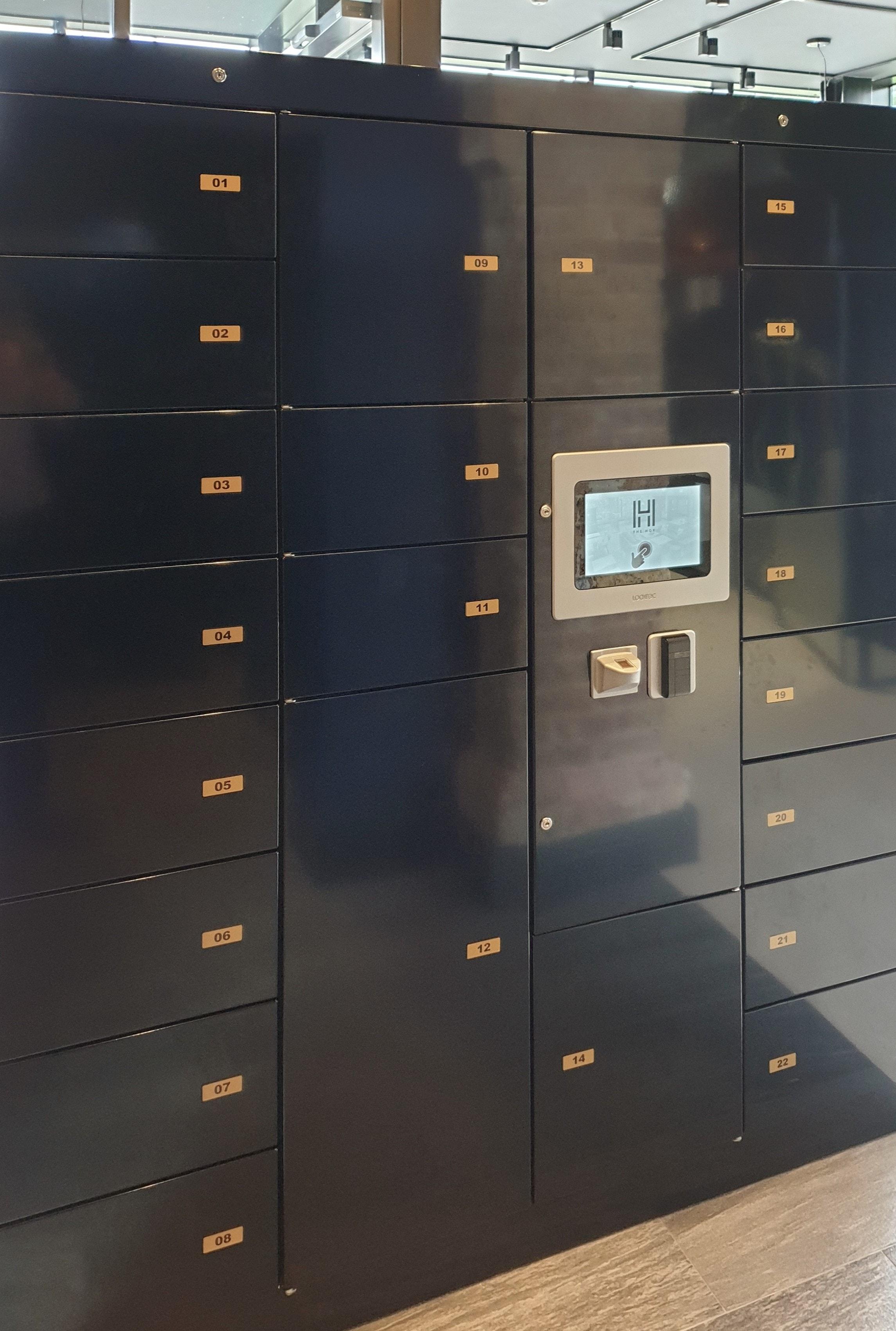 Paketstation für Wohngebäude - E-Concierge von LockTec