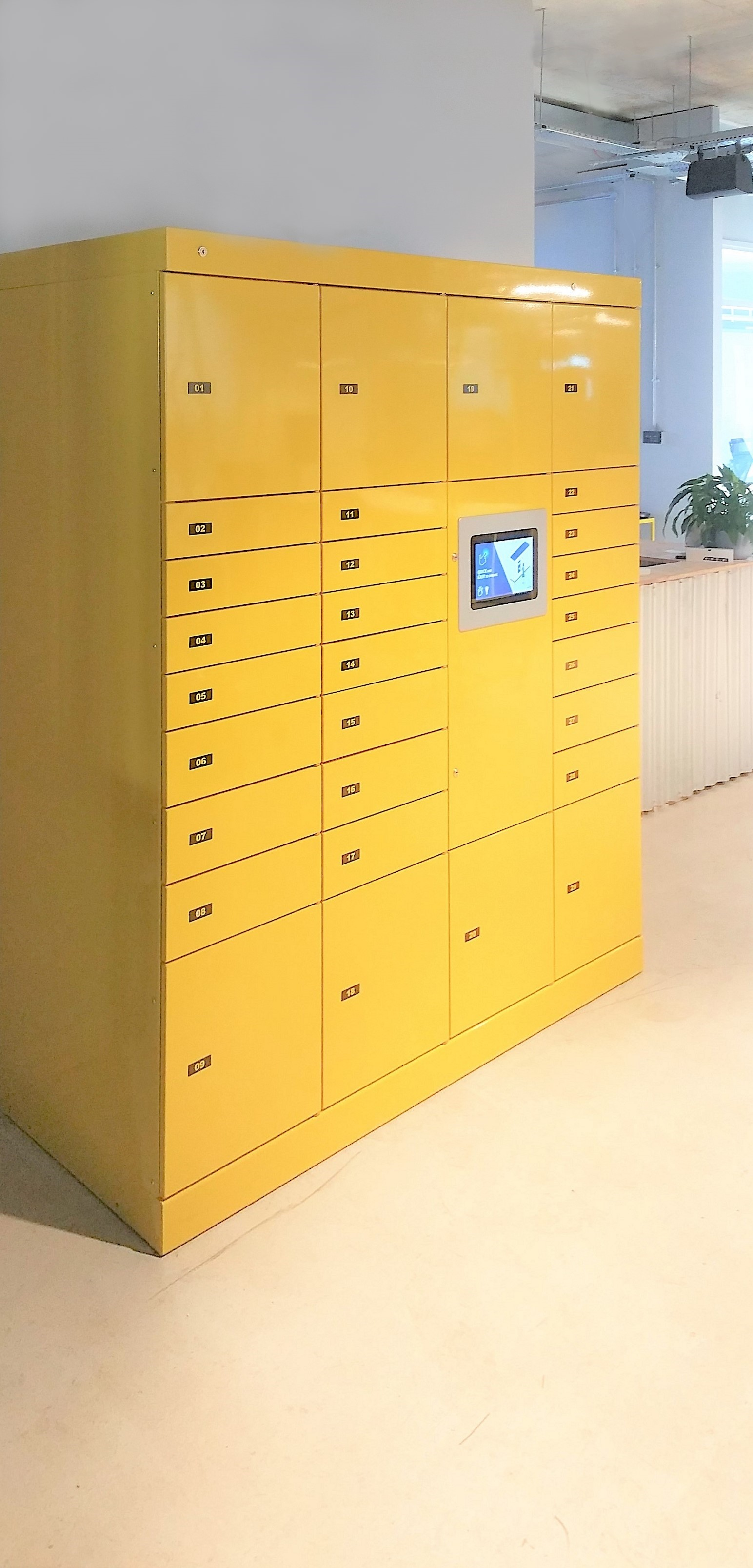 Pakketautomaat met click & collect – Servicebox