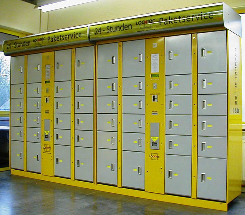 LockTec is the original inventor of patented lockers for the delivery of goods, developing thereby the last-mile solution