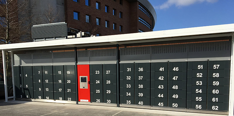 Refrigerated lockers from LockTec are promoted by the Federal Ministry for Economics and Energy