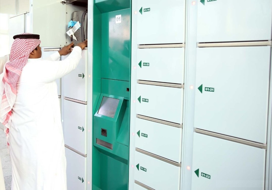 Smart lockers for luggage in Mecca: LockTec delivers luggage locker cabinets to the pilgrimage site in Saudi Arabia