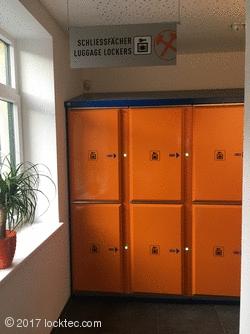 lockers for tourism - Locksafe at Salzwelten