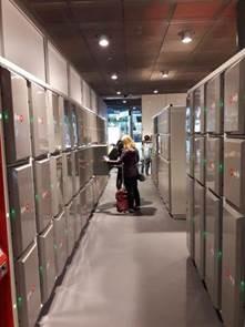 Gepäckschließfächer für Bahnhöfe - Locksafe von LockTec
